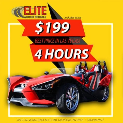 $199 per hour slingshot rental