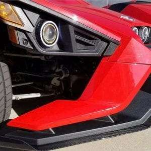 Picture of a slingshot headlight