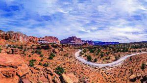 A scenic background near Las Vegas, Nevada