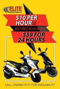 Scooter Rentals in Las Vegas!